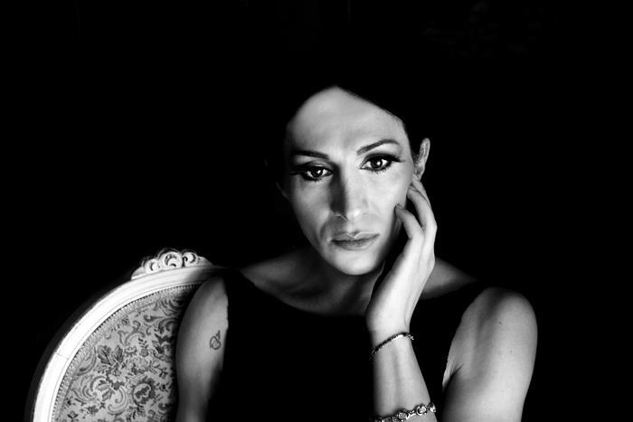 Mina Orfanou, Greek Actress and Painter © Lu Kowski 2013