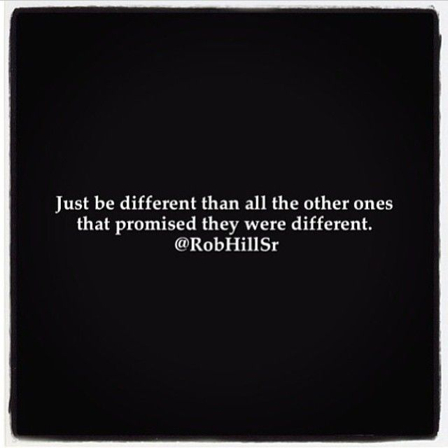 Just Be Diffrent
