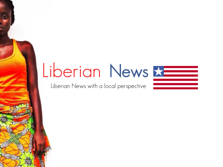LIberian NEWS wallpaper w flag
