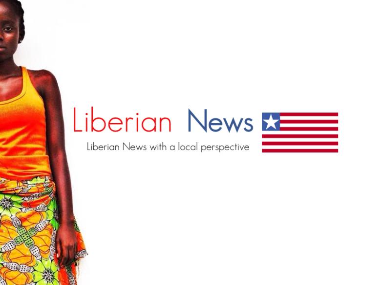 LIberian NEWS wallpaper w flag